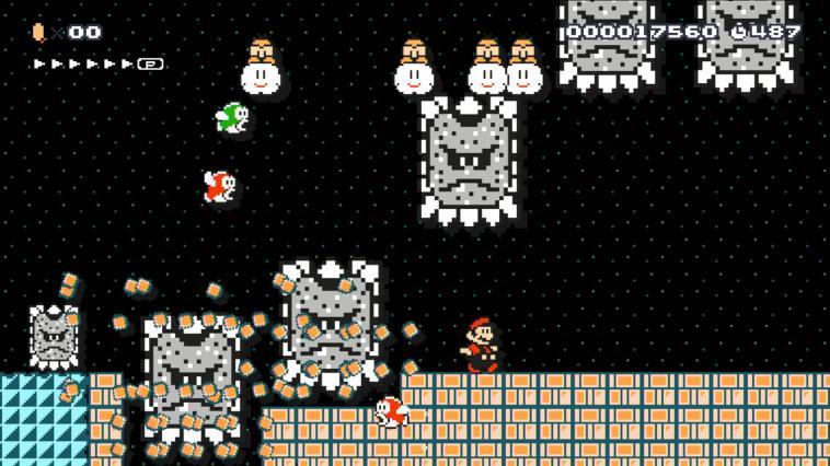 Super Mario Maker - Wii U Download Code Screenshot 2