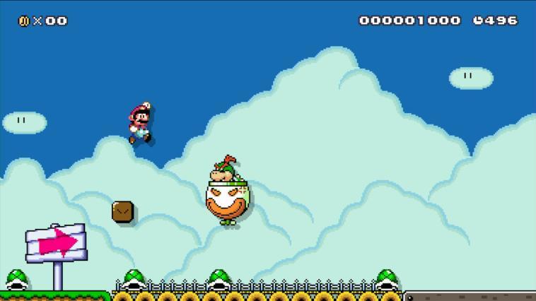Super Mario Maker - Wii U Download Code Screenshot 4